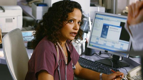 "Judy Reyes as nurse Carla Espinosa in ""Scrubs."""
