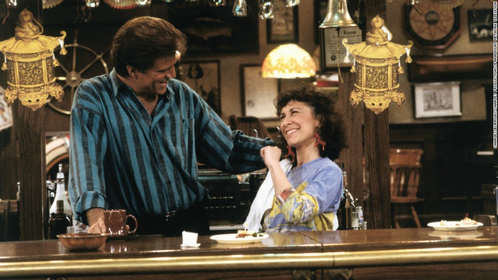 "Rhea Perlmann as the sassy server Carla Tortelli in ""Cheers."""