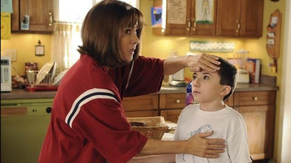 """Patricia Heaton as Frankie Heck, a car saleswoman, and later a dental hygienist in """"The Middle."""""""