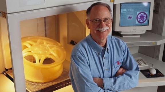 3D printing inventor Chuck Hull