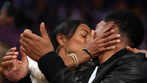 """Jada Pinkett Smith on keeping things fresh: """"Think of places outside that are comfortable to have sex. Does he have access to his office? Have a fantasy date. Be his secretary! Be sneaky. Your girlfriend's house at a party. The bathroom! A guest bedroom! Just switch it up."""""""