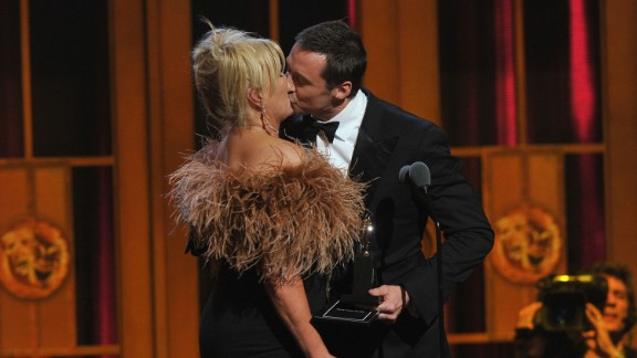 """Hugh Jackman on romancing Deborra Lee-Furness: """"My No. 1 rule for romance is surprise. (Once) I pretended I was still on the set, and I called Deb and said, 'I'll be back late tonight.' ... And she got such a shock (that) I'd made reservations at our favorite lunch place. It was three hours before the kids finished school, and it was awesome because it was unplanned."""""""