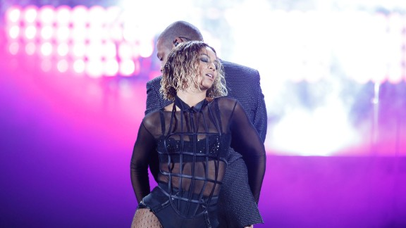 """Beyoncé on Jay-Z: """"The day that I got engaged was my husband's birthday and I took him to Crazy Horse. And I remember thinking, 'Damn, these girls are fly' -- I just thought it was the ultimate sexy show I've ever seen. And I was like, 'I wish I was up there, I wish I could perform that for my man.' So that's what I did."""""""