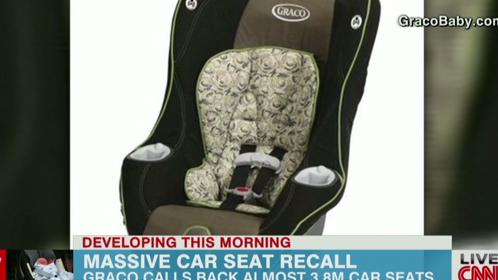 37 Million Graco Car Seats Recalled Due To Buckle Issue