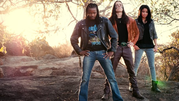 """Skinflint"" are one of Botswana's leading metal bands, and have played in South Africa, Kenya and even as far afield as Sweden."