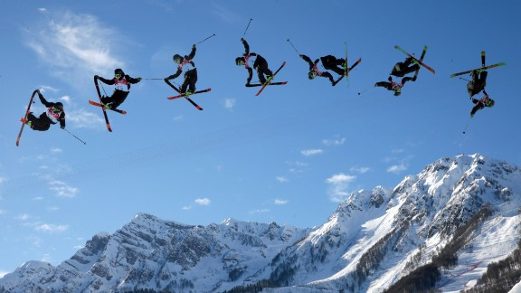 Sochi's slopestyle competition, with both ski and snowboard versions, has brought a whole new dimension to the Winter Games.