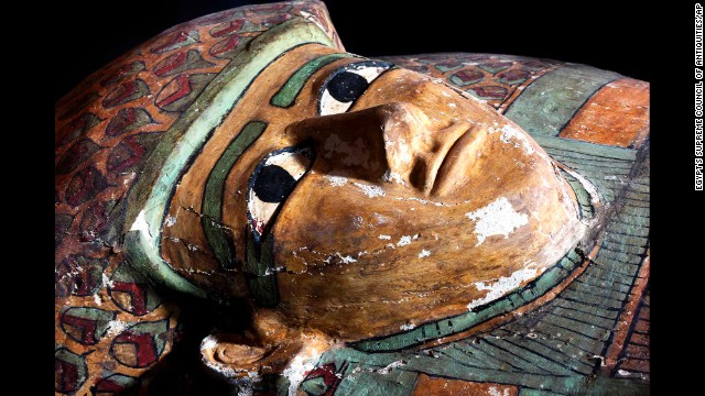 A sarcophagus with a mummy inside that dates back to 1600 B.C. has been unearthed in the ancient Egyptian city of Luxor.