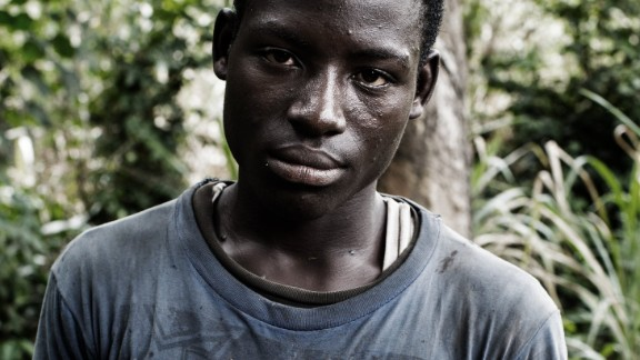 Many cocoa growers work on small family-run farms. Jean inherited his two-hectare plantation seven years ago when he was just 11, after his father died.