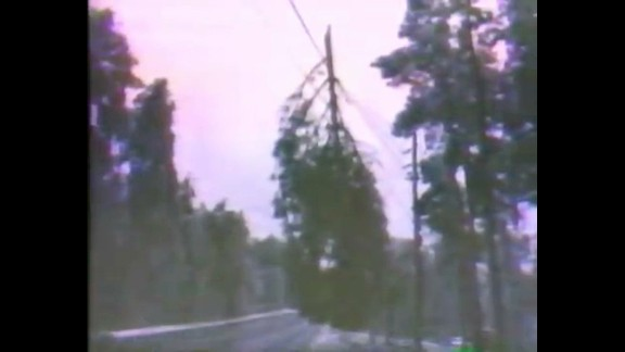 WAGA's coverage of the 1973 storm shows ice-covered trees on power lines;  much of Atlanta was in the dark for a week.