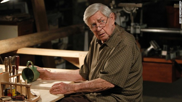 "Ralph Waite is seen playing Jackson Gibbs, in an episode of CBS's ""NCIS."""