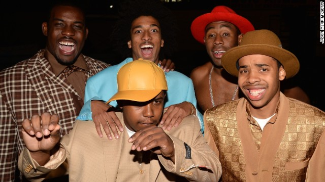 995b5d30cd9a Immigration authorities there have barred rap group Odd Future from  entering the country