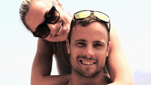 Last photos of Pistorius and lover