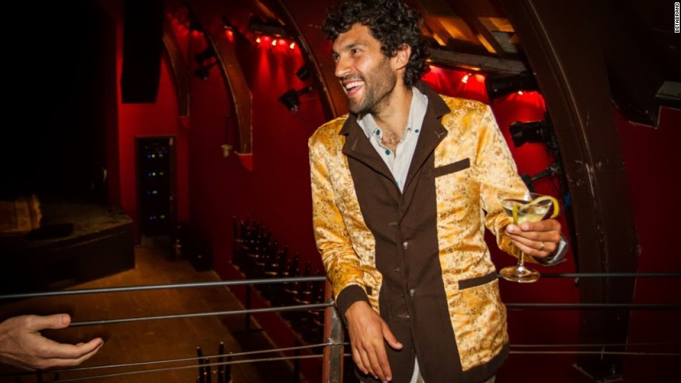 Betabrand also makes a Reversible Smoking Jacket.