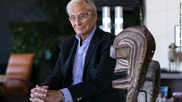 Tom Perkins, co-founder of Kleiner Perkins Caufield & Byers, sits for a photograph in his home in San Francisco, California, U.S., on January 31, 2014. Perkins, a venture capital pioneer, apologized for comparing todays treatment of wealthy Americans to the persecution of Jews in Nazi Germany, though he said he stood by his message around class warfare. Photographer: David Paul Morris/Bloomberg/Getty Images