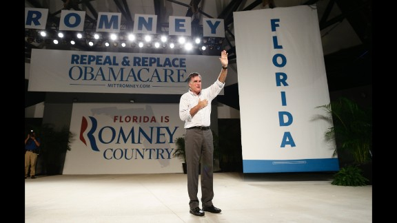 Don't underestimate immigration as an issue: Former Republican presidential candidate Mitt Romney missed the inclusiveness memo when he  promoted a self-deportation policy unpopular with many Latinos. He's shown here in Florida, a swing state with a large Latino population, a month before the 2012 presidential election.