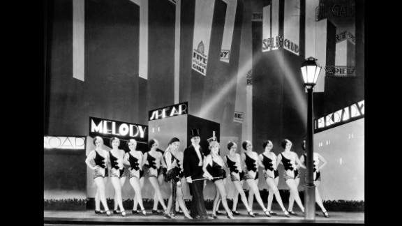 """""""The Broadway Melody"""" (1930): The musical """"The Broadway Melody"""" was the first sound film to win best picture. The film stars Charles King, Anita Page and Bessie Love."""
