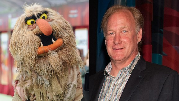 """John Henson, son of Jim Henson, voiced """"The Muppets"""" character Sweetums."""