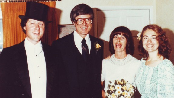 """Bill Clinton as Arkansas governor officiated Jim and Diane Blair's 1979 wedding and Hillary Clinton was """"best person."""" Click through the images for a look into political science professor Diane Blair's relationship with the Clintons:"""