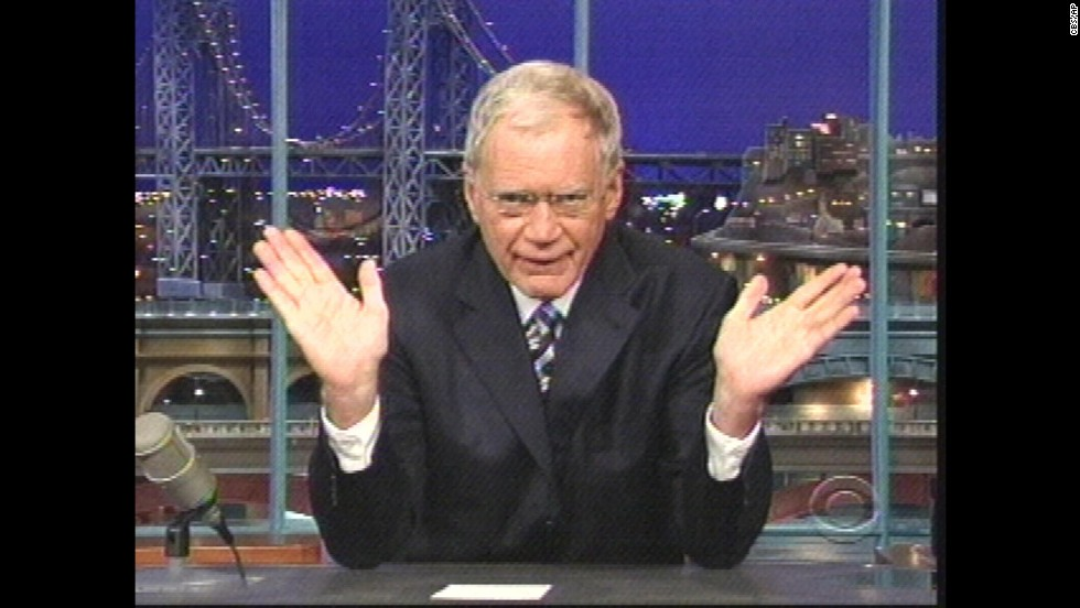 "David Letterman apologized to his wife in October 2009, days after revealing on air that he had been sexually involved with female staffers from his television show, ""Late Show with David Letterman."""