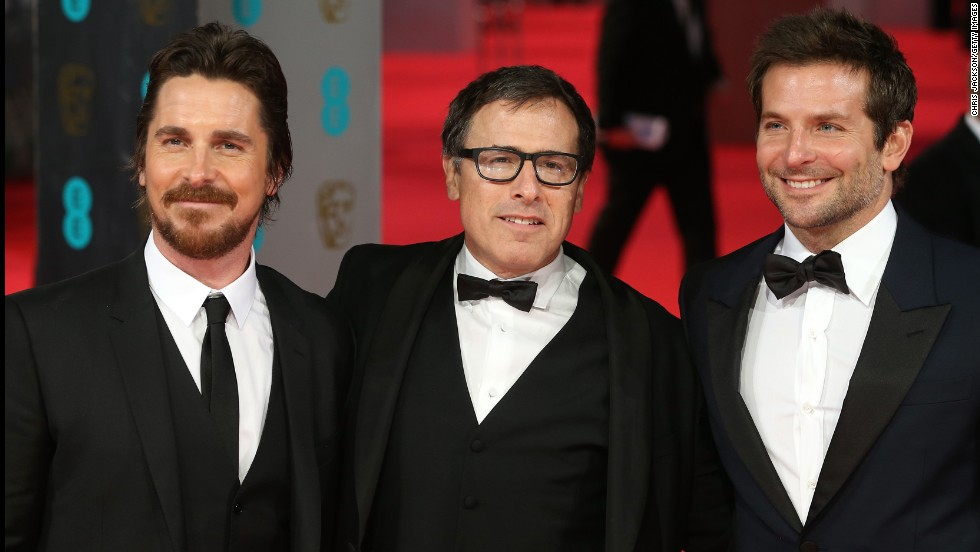 Christian Bale, David O. Russell and Bradley Cooper