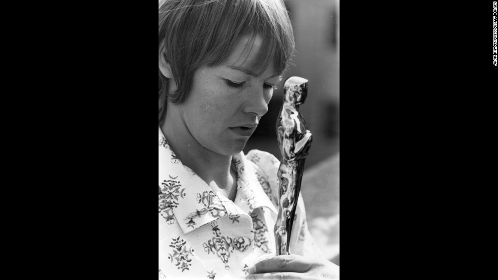 "Glenda Jackson won the best actress Oscar for her part in ""Women In Love."""