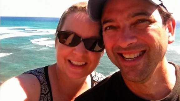 """Graham and her husband went to Hawaii for her 25th high school reunion a couple of months after she completed treatment. Her classmates postponed the reunion until she could make it. The couple called the trip their """"F U Cancer Tour."""""""
