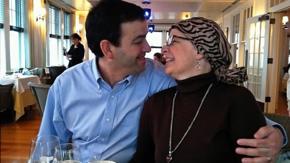 Graham and her husband, John, both survived cancer. Graham was diagnosed with and treated for<strong> </strong>osteosarcoma. John finished chemotherapy in 2008 for head and neck cancer. This photo was taken in April 2011, while she was in active treatment.