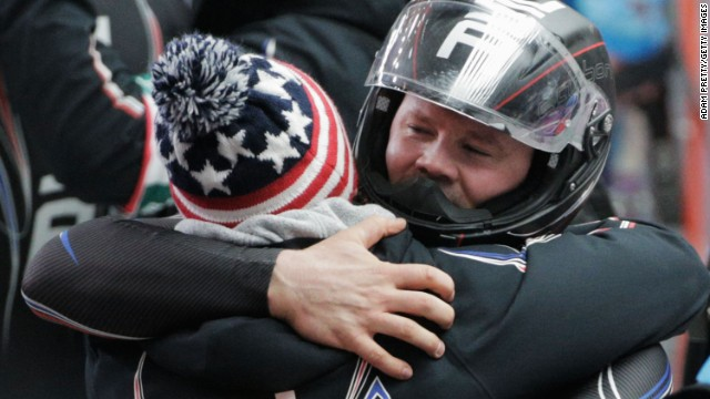 Steven Holcomb won two bronze medals in Sochi after a gold at the Vancouver Games.