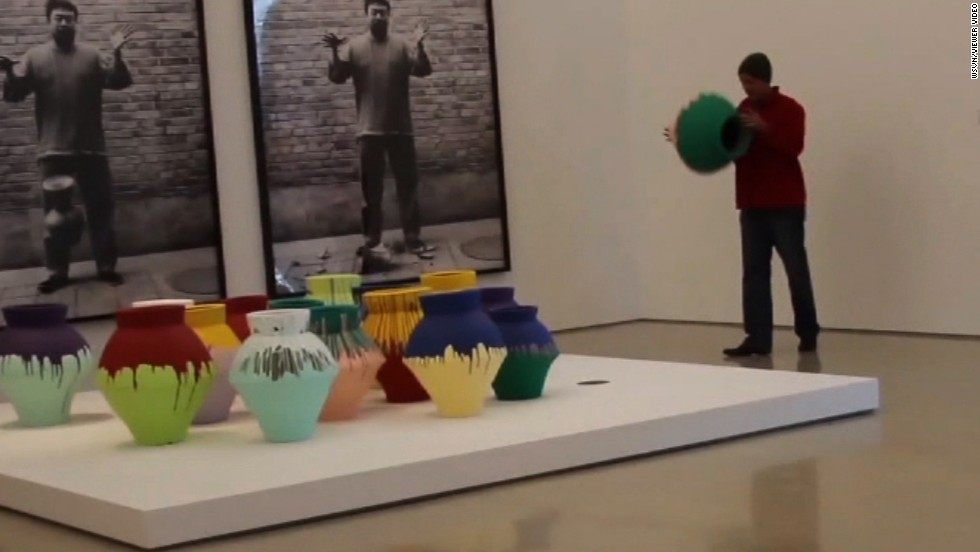 1 Million Ai Weiwei Vase Destroyed In Miami As Artist Protests Cnn