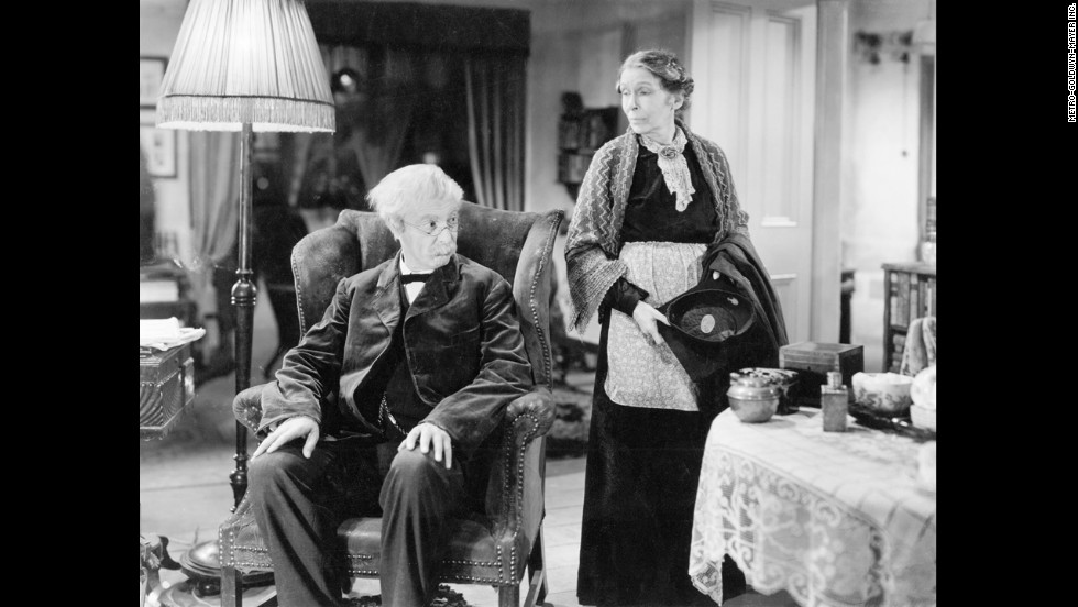 "Robert Donat and Louise Hampton star in ""Goodbye, Mr. Chips."" It is surprising when Donat beats out strong contenders -- including Clark Gable for ""Gone With The Wind"" and Laurence Olivier for ""Wuthering Heights"" --  to win the best actor Academy Award in 1940. <br />"