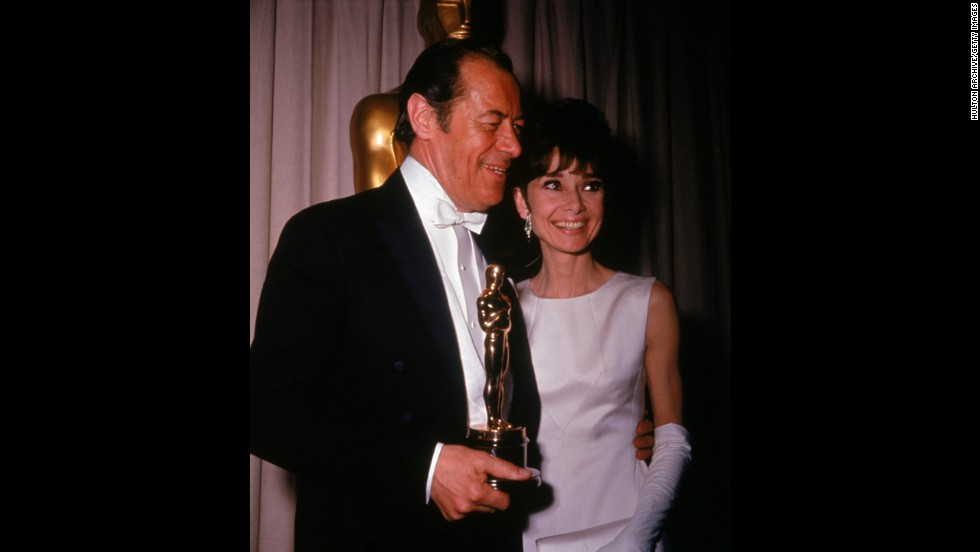 "Who didn't fall in love with ""My Fair Lady""? The academy sure did. Rex Harrison took the best actor prize for his role as Henry Higgins at the 1965 ceremony, and the musical won best picture honors, among others. But Audrey Hepburn's performance has Eliza Doolittle wasn't even nominated -- the Oscar went to Julie Andrews for ""Mary Poppins."""