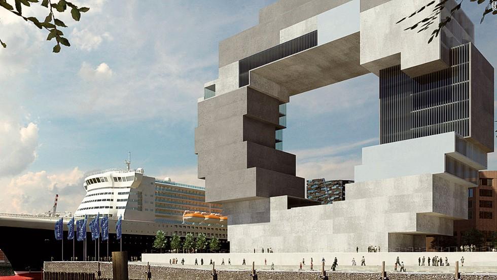 11 edificios con enormes agujeros for Arquitectura holandesa