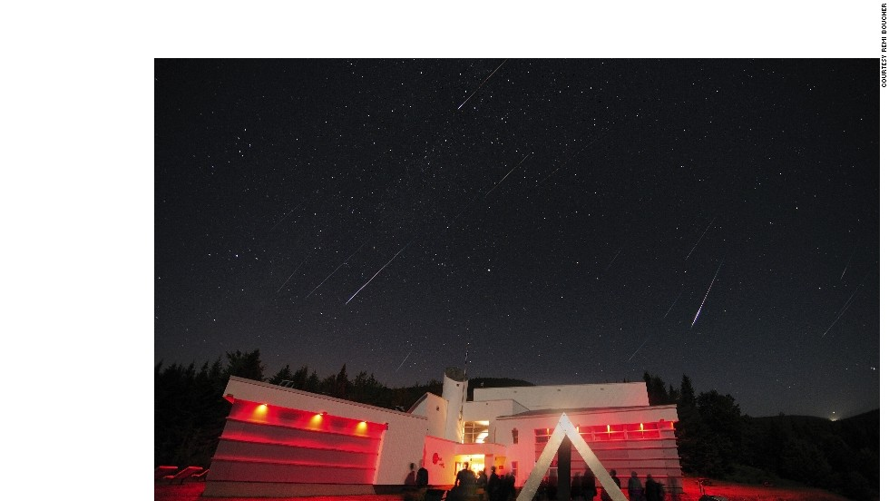 "<strong>Mont-Mégantic Dark Sky Reserve (Canada):</strong> The annual <a href=""http://www.astrolab-parc-national-mont-megantic.org/en/activities.perseids.htm"" target=""_blank"">Perseids Event</a> at Mont-Mégantic is dedicated to the meteor shower that can be seen every August. Around 50-100 ""fireballs"" can be seen per hour across the sky in Quebec, Canada."