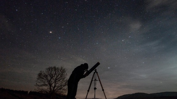 """<strong>Galloway Forest Park (UK): </strong>Star formations or """"stellar nurseries"""" can be seen without the use of equipment in this park in Scotland, but details of the nebulae are better observed through one of the two telescopes at the Scottish Dark Sky Observatory."""