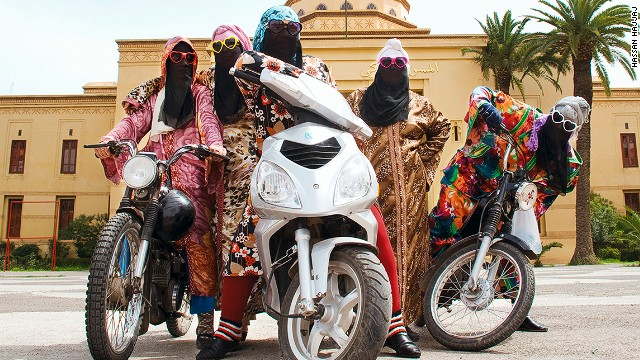 Fashionistas At The Wheel Meet The Female Biker Gangs Of