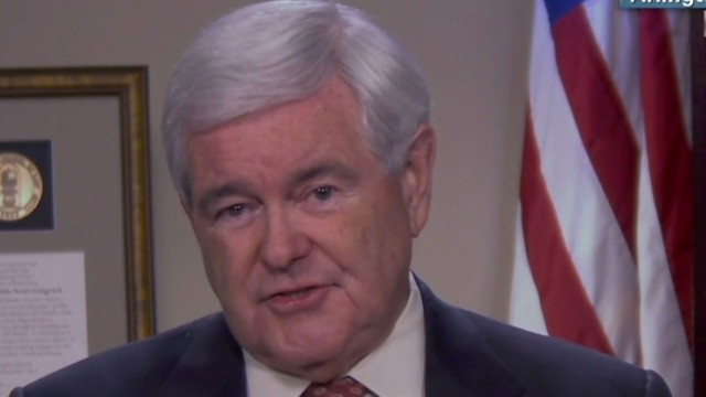 Gingrich defends Kerry resignation call