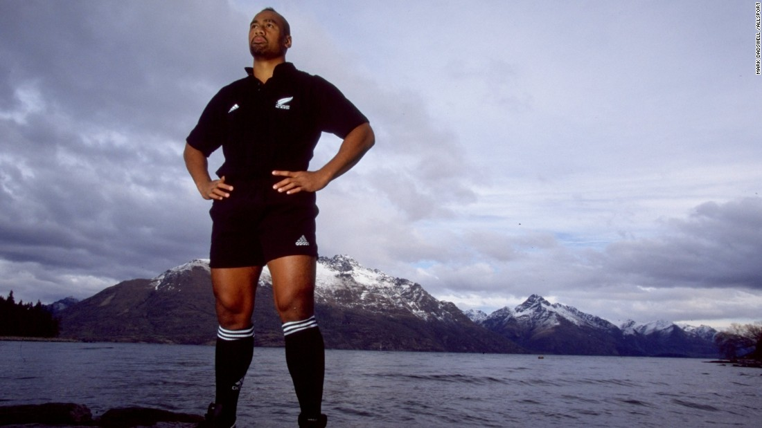 Lomu was arguably the best known rugby player of all time and one who enjoyed the greatest stature in the game over the past two decades. He scored 37 tries in 63 Tests for the All Blacks and was the epitome of power and speed in his role as a winger.