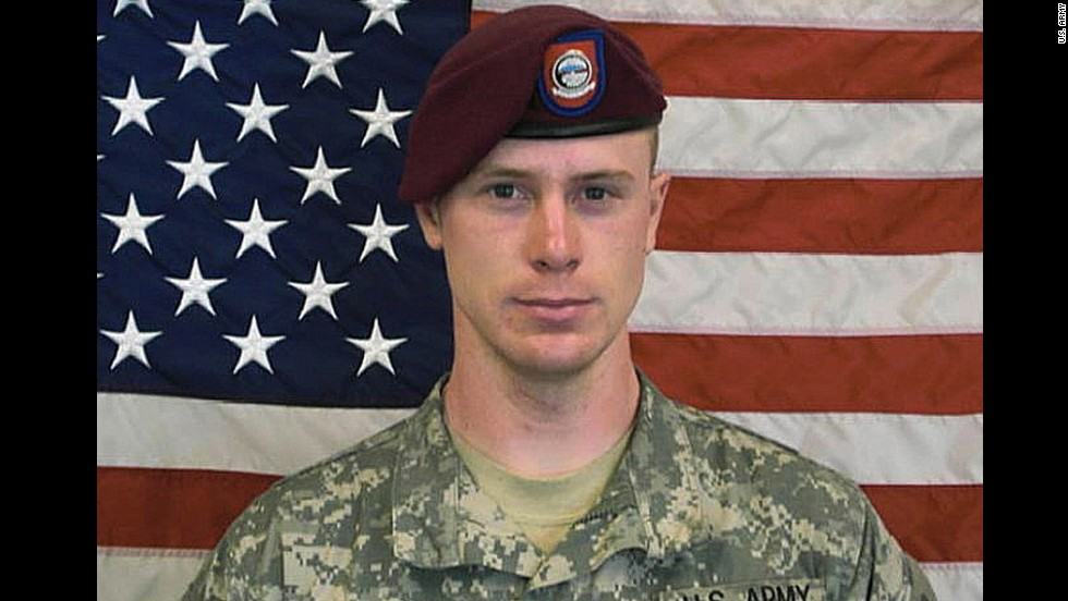 "This undated image provided by the U.S. Army shows Sgt. Bowe Bergdahl, who had been held by insurgents in Afghanistan since 2009. The White House <a href=""http://www.cnn.com/2014/06/01/us/bergdahl-transferred-guantanamo-detainees/index.html"">announced Bergdahl's release</a> on May 31, 2014. Bergdahl was released in exchange for five senior Taliban members held by the U.S. military. In March 2015, <a href=""http://www.cnn.com/2015/03/25/politics/bowe-bergdahl-charges-decision/index.html"" target=""_blank"">the U.S. military charged Bergdahl </a>with one count each of ""Desertion with Intent to Shirk Important or Hazardous Duty,"" and ""Misbehavior Before The Enemy by Endangering the Safety of a Command, Unit or Place."""