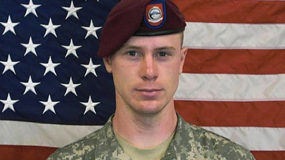"This undated image provided by the U.S. Army shows Sgt. Bowe Bergdahl, who had been held by insurgents in Afghanistan since 2009. The White House announced Bergdahl's release on May 31, 2014. Bergdahl was released in exchange for five senior Taliban members held by the U.S. military. In March 2015, the U.S. military charged Bergdahl with one count each of ""Desertion with Intent to Shirk Important or Hazardous Duty,"" and ""Misbehavior Before The Enemy by Endangering the Safety of a Command, Unit or Place."""