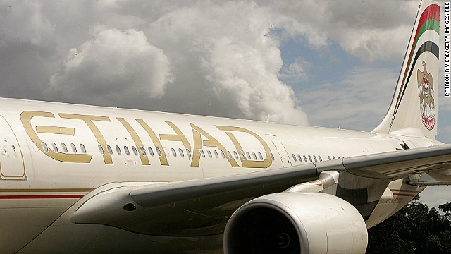 Etihad Airways made an emergency landing after fires on board a flight from Melbourne to Abu Dhabi on Monday.