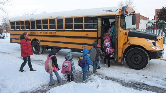 Many school districts around Springfield, Missouri, had high numbers of snow days. Schools build at least six snow days into their calendars, but districts like Fair Grove schools turned holidays and teachers
