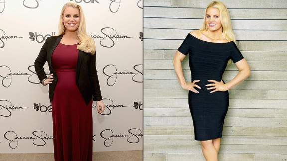"Jessica Simpson showed off a supersvelte look in a Weight Watchers ad released in February 2014. ""I was so insecure -- I couldn"