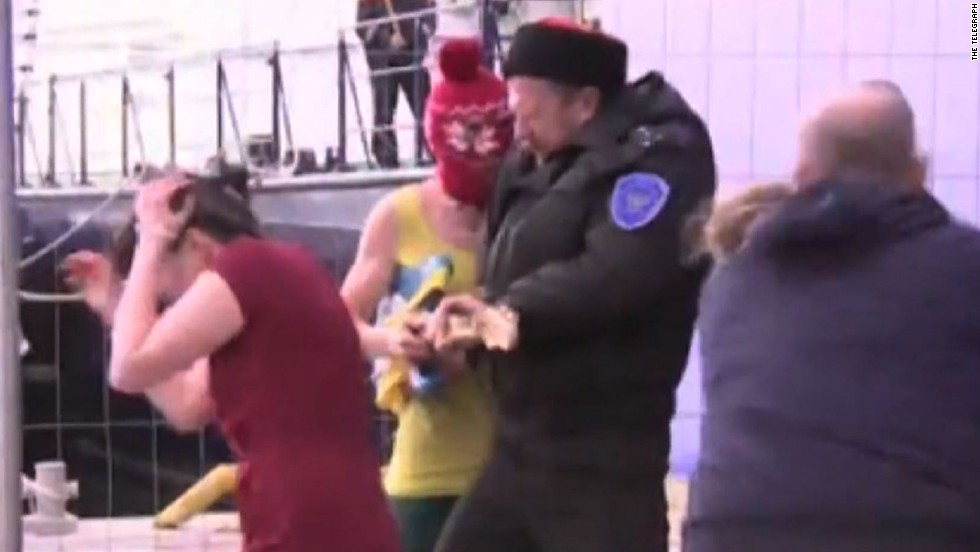 Video Shows Pussy Riot Members Beaten By Cossacks Cnn