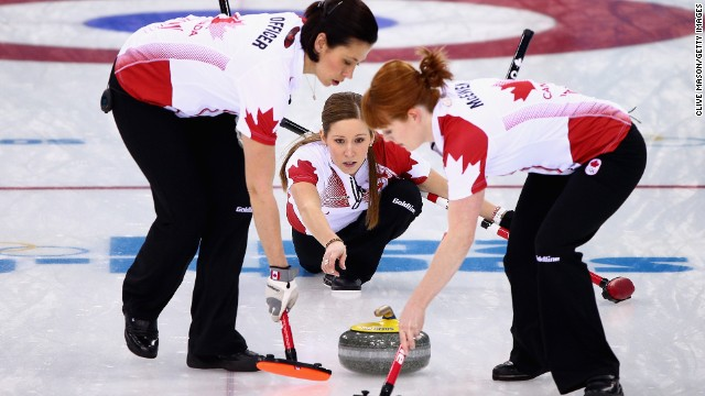 No one cares if you throw stones in curling -- it's kind of expected.