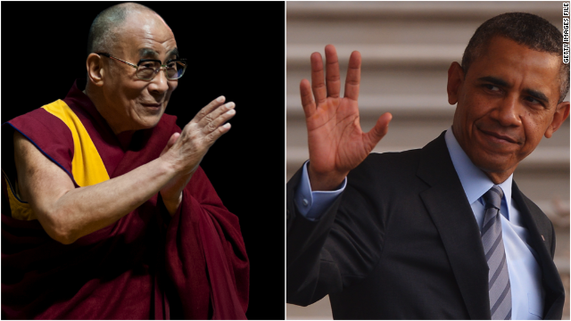 China to Obama: Don't meet Dalai Lama