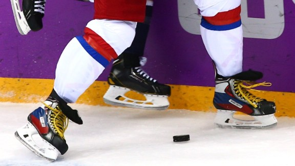 Olympic competition offers great chances to show off your patriotism. Russia's hockey star Alexander Ovechkin did so with custom-made skates featuring the Winter Games host's flag.