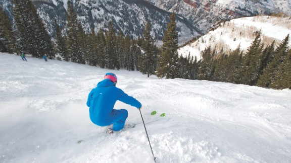 'I believe there's no place like Aspen,' says Olympic  medalist Chris Klug. As well as the massive range of ski and snowboard options which cater for all standards, Klug also lauds the big city attractions within a small town and believes it has all the bases covered.