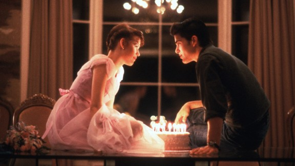 """Filmmaker John Hughes was a master of teenage angst -- and romance, as seen here in """"Sixteen Candles"""" (1984) with Molly Ringwald and Michael Schoeffling. From """"The Breakfast Club"""" to """"Ferris Bueller's Day Off"""" to """"Pretty in Pink,"""" Hughes' movies are as relatable as they are quotable. Yet his work as a writer or director was never nominated for an Academy Award. See other films about youth that Oscar has overlooked:"""