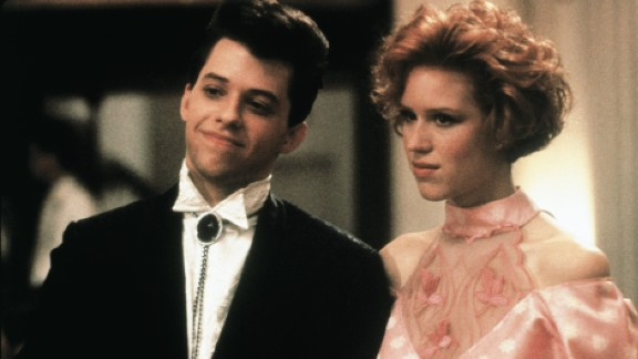 """Jon Cryer and Molly Ringwald star in """"Pretty in Pink."""""""