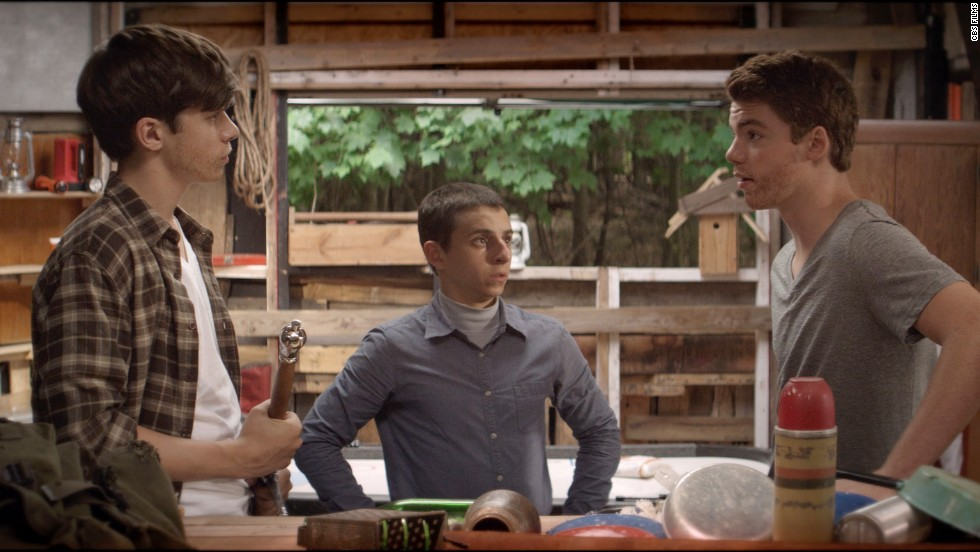 "<strong>""The Kings of Summer"" (2013): </strong>This coming-of-age comedy features three teenage boys -- Joe (Nick Robinson, left), Patrick (Gabriel Basso, right) and Biaggio (Moises Arias) -- who run away from home to build a house in the woods."